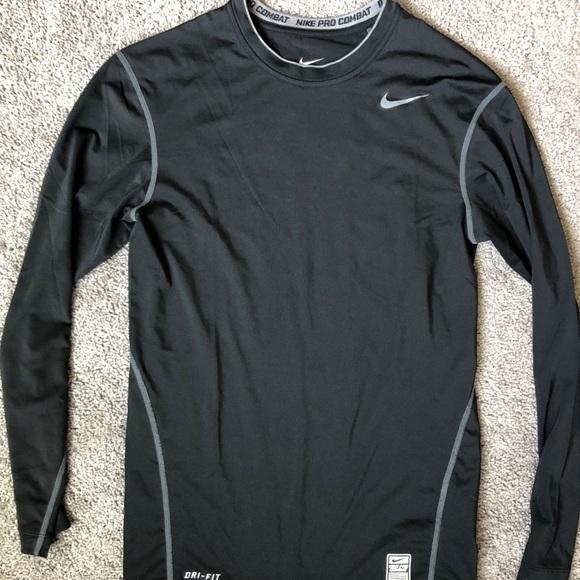 Men's Nike Pro Compression Shirt Black Size L